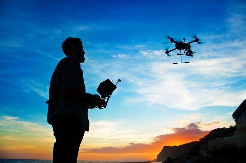 Films par drones